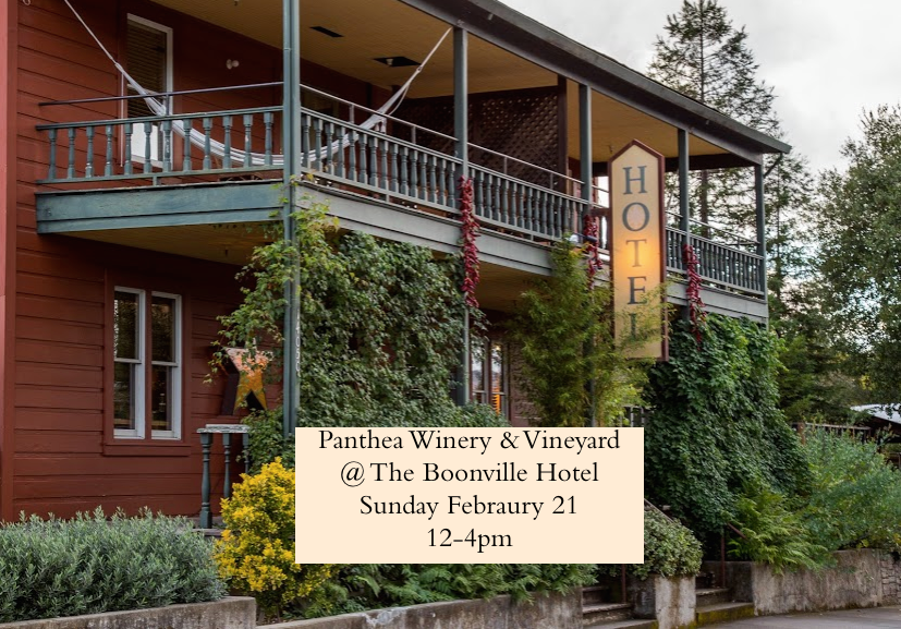 Come Join Panthea Sunday February 21 From 12 4 At The Boonville Hotel In Honor Of Alsace Varietals Festival Enjoy Live Music Sample Delicious Wines